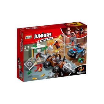 LEGO® Juniors The Incredibles II 10760 Le braquage d'une banque du Démolisseur