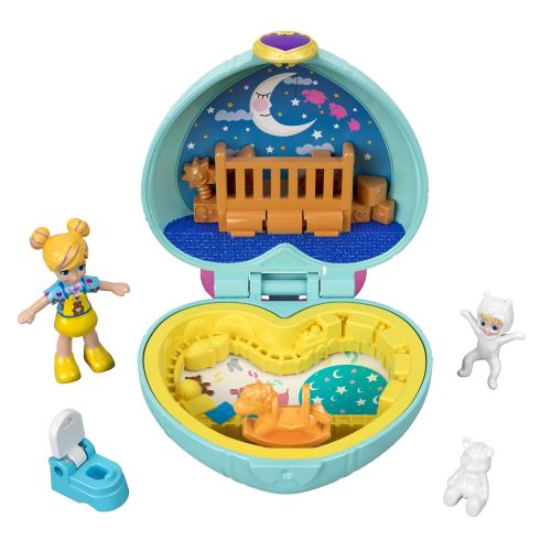 Poupée Polly Pocket Polly et bébé Paxton