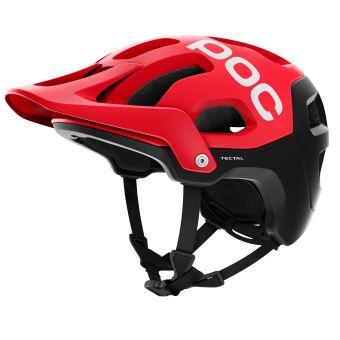 Casque de vélo POC Tectal Taille M L Rouge