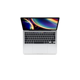 Apple MacBook Pro 13'' Touch Bar 256 Go SSD 8 Go RAM Intel Core i5 quadricœur à 1.4 GHz Argent Nouveau