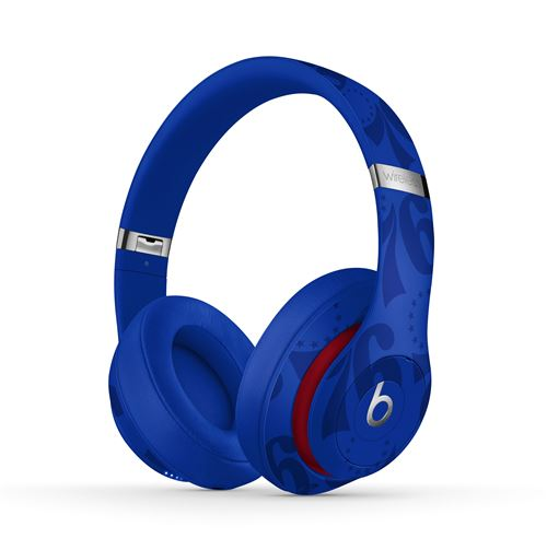 Casque sans fil Beats Studio3 Collection NBA 76ers Bleu