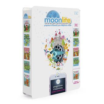 Gift pack projecteur Moonlite avec 5 histoires Contes