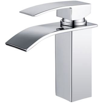 16 sur homelody robinet salle de bain cascade mitigeur de lavabo en laiton robinet deux - Robinetterie laiton salle de bain ...
