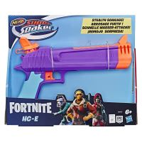 Pistolet à eau Nerf Fortnite Super Soaker HCE Violet et Orange