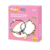 Kit créatif Fnac Kids Bracelets de perles Métal