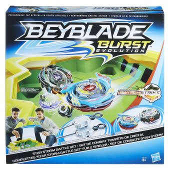 Set de combat Tempête de Cristal Beyblade Burst