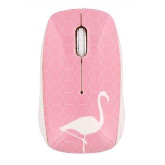 Souris sans fil T'nB Exclusiv' Series Design Flamingo