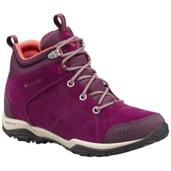 Femme Chaussures Violettes Fire Venture Mid Taille Columbia rxCBWode