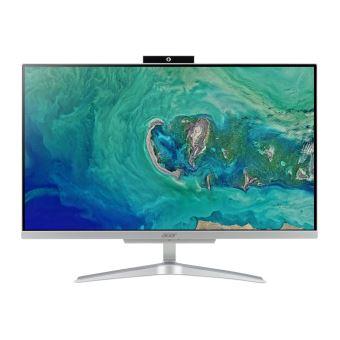 "Acer Aspire C 24 C24-865 - Alles-in-één - 1 x Core i5 8250U / 1.6 GHz - RAM 4 GB - HDD 1 TB - UHD Graphics 620 - GigE - WLAN: 802.11a/b/g/n/ac, Bluetooth 4.2 - Win 10 Home 64 bits - monitor: LED 23.8"" 1920 x 1080 (Full HD)"