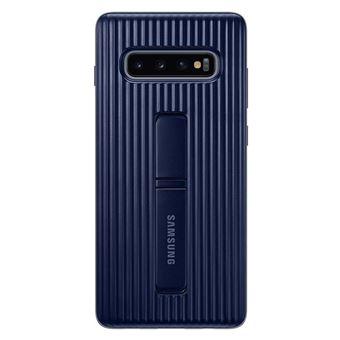 Coque renforcée avec fonction Stand Samsung Noir pour Galaxy S10 Plus