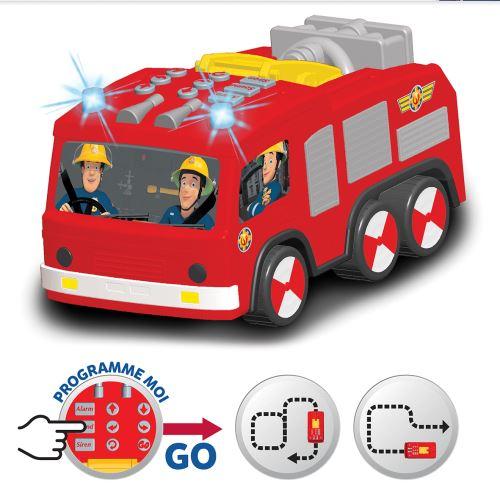 Camion Dickie Sam Le Pompier Super Tech Jupiter