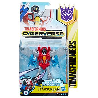 Figurine Transformers Cyberverse Starscream Aile coupante