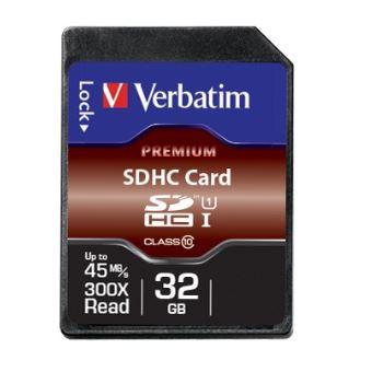 Verbatim - flashgeheugenkaart - 32 GB - SDHC