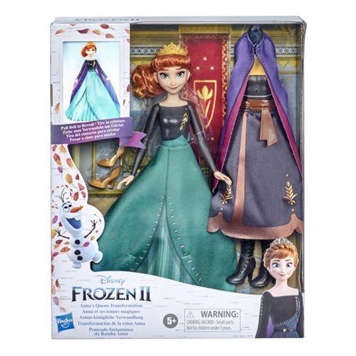 Poupée Disney Frozen La Reine des Neiges 2 Anna et ses tenues magiques