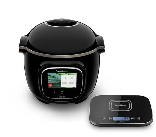 Multicuiseur intelligent Moulinex CE916800 Cookeo Touch Grameez 1600 W Noir