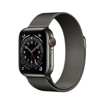 Photo de apple-watch-series-6-40mm-boitier-acier-graphite