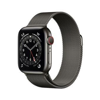 Photo de apple-watch-series-6-40mm-boitier-acier-graphite