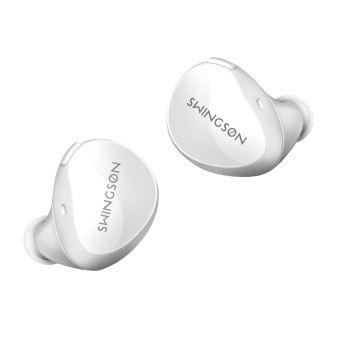 Ecouteurs sans fil Swingson True Blanc