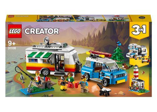 LEGO® Creator 31108 Les vacances en caravane en famille