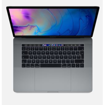 """Apple MacBook Pro 15.4"""" Touch Bar 512 Go SSD 16 Go RAM Intel Core i9 octocœur à 2.3 GHz Gris sidéral Nouveau"""