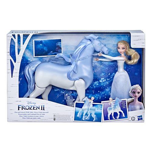 Poupée Disney Frozen La Reine des Neiges 2 Elsa et Nokk interactif
