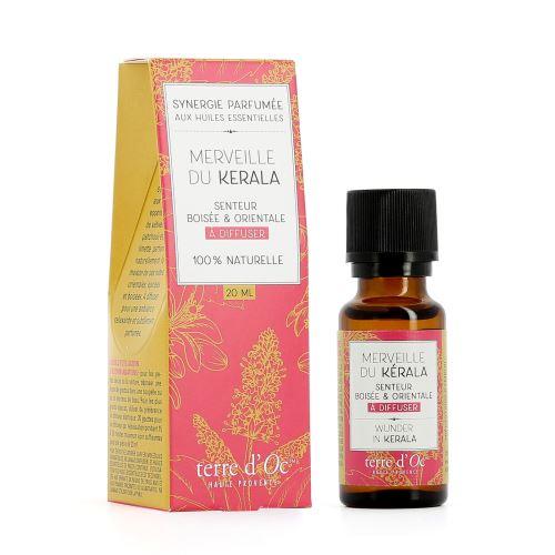 Synergie parfumée Merveille du Kerala Terre D'oc