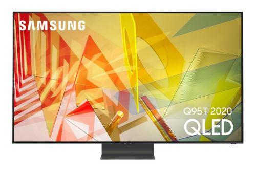 """Plus de détails TV Samsung QE85Q95T 4K UHD QLED 85"""" Argent carbon 2020"""