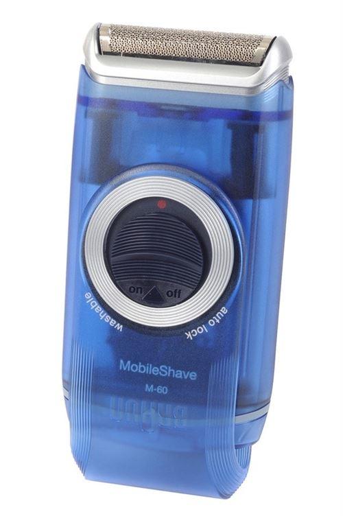 Rasoir électrique Braun Mobile Shave M60 Bleu