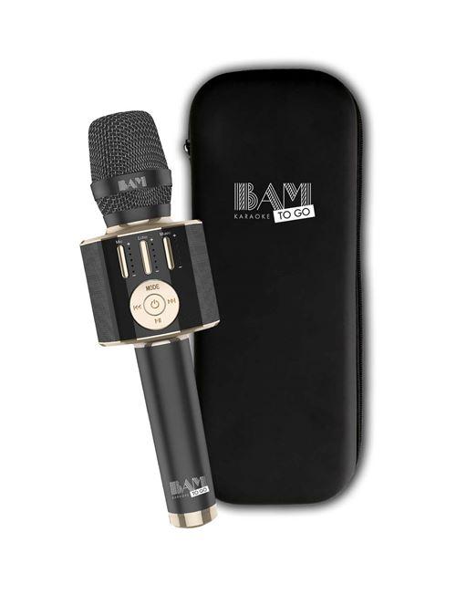 Micro Karaoké Bam Karaoké To Go Bluetooth avec enceinte intégrée
