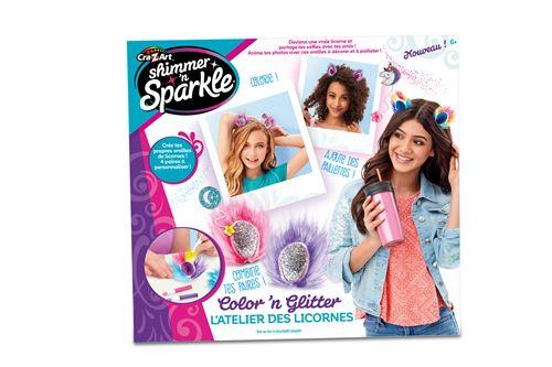 Kit créatif Shimmer and Sparkle Crée tes couronnes