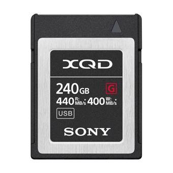 Carte Mémoire Sony XQD 240 Go