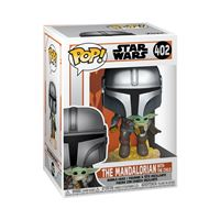 Figurine Funko Pop Star Wars The Mandalorian flying with Jet Pack