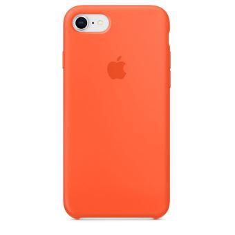 coque iphone 8 plus orange fluo