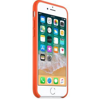 coque iphone 7 orange