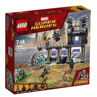 LEGO® Marvel Super Heroes 76103 L'attaque de Corvus Glaive