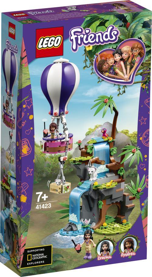 LEGO® Friends 41423 Le sauvetage des tigres en montgolfière