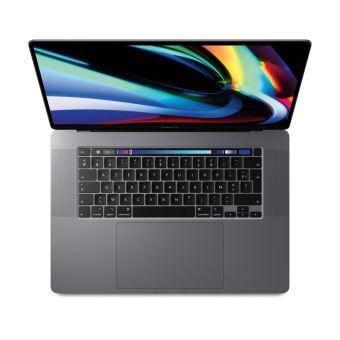 """Apple MacBook Pro Touch Bar 16"""" Retina Intel Core i9 8 coeurs de 9ème génération à 2.3 GHz 32 Go RAM 1 To SSD Radeon Pro 5500M 8 Go Gris Sidéral Sur-mesure"""