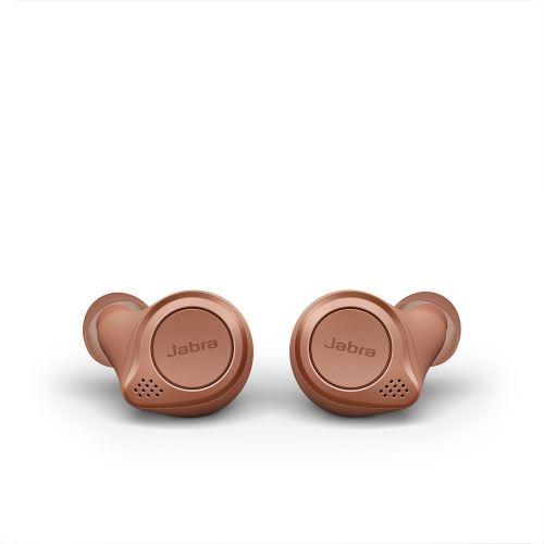 Jabra Elite Active 75t Écouteurs sans fil True Wireless sport avec réduction active du bruit Terre de Sienne
