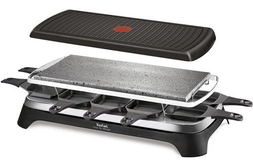 Raclette pour 10 personnes Tefal Inox & Design 1350 W