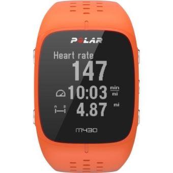 Montre GPS de running Polar M430 Orange