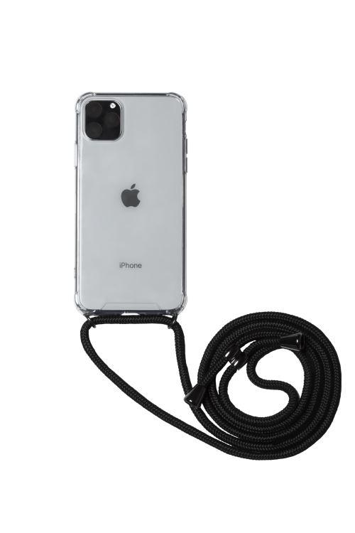 Coque Transparente a bandouliere BigBen Connected pour iPhone 6 6s 7 8 SE 2020