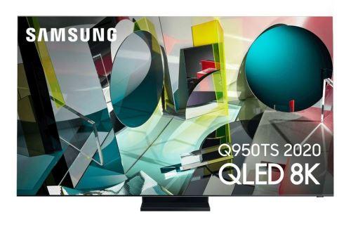 """Plus de détails TV Samsung QE75Q950TS 8K 75"""" Smart TV Noir et Argent 2020"""