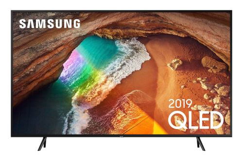 Plus de détails TV Samsung QE75Q60R QLED 4K UHD Smart TV 75'' application Disney+ disponible Gris