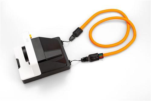 Bandoulière Polaroid Rond Orange pour appareil photo