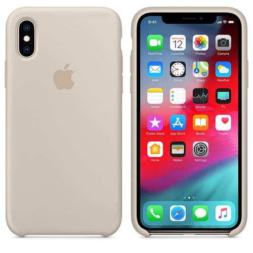 coque iphone xs grise