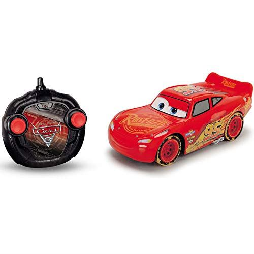 Voiture radiocommandée Majorette Cars 3 Fireball Beach Lightning Mc Queen 1:24