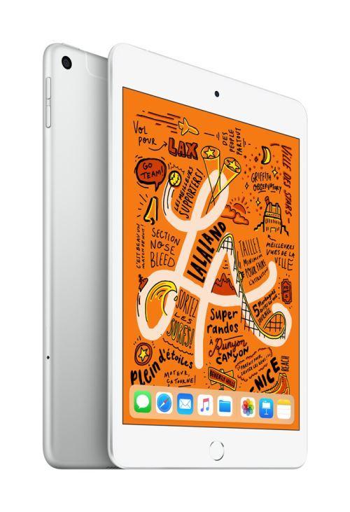 "Apple iPad Mini 64 Go WiFi + 4G Argent 7.9"" 2019 5 ème..."