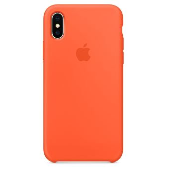 coque iphone xs apple orange