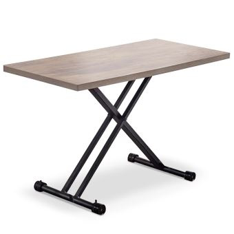 Table basse relevable Duke Chêne Clair