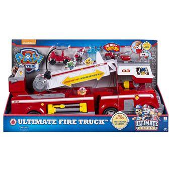 Patrouille Figurine Avec De Pompiers Rescue Ultimate Pat' Camion OkPlZTwXui